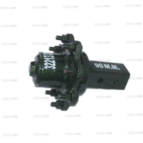 90 mm black tractor trolley axle