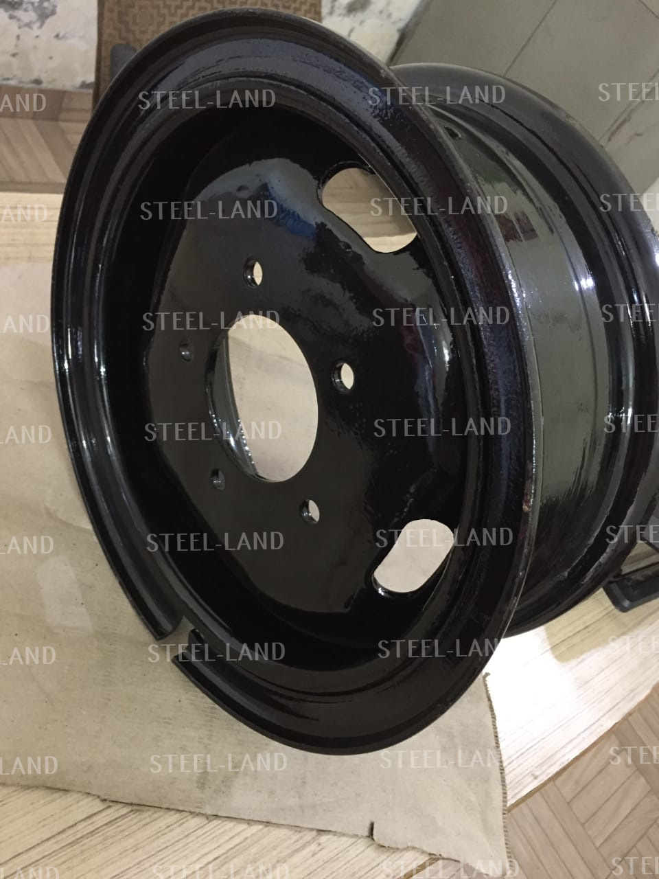 STEEL LAND Steellandindustries.com 77.00x15 7x15 5 hole wheel rim bolero pickup.jpg