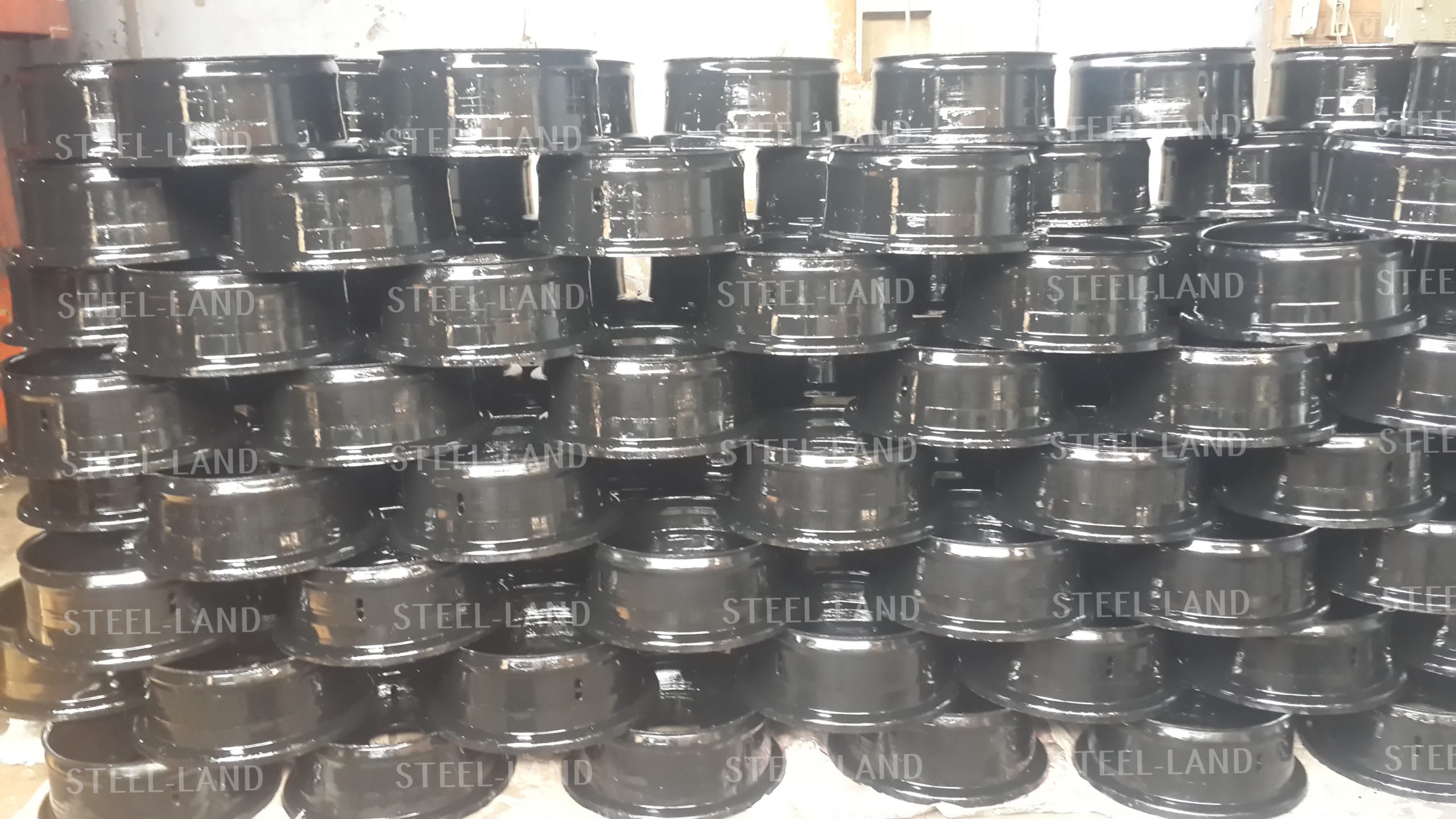 STEEL LAND Wheel rim For Tractor trolley Trailer www.steellandindustries.com 1.jpg