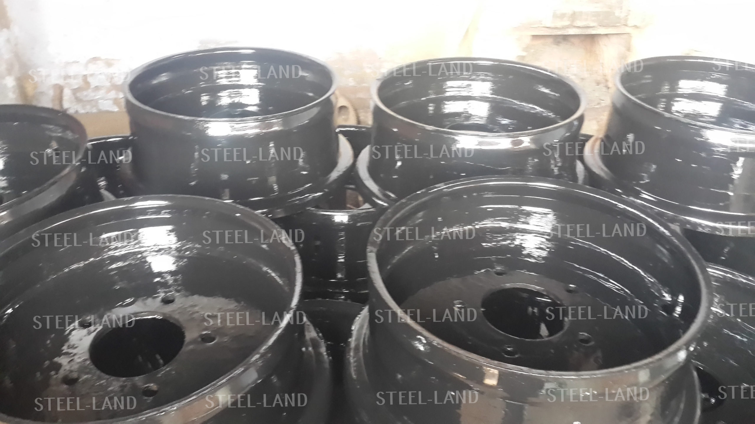 STEEL LAND Wheel rim For Tractor trolley Trailer www.steellandindustries.com 3.jpg