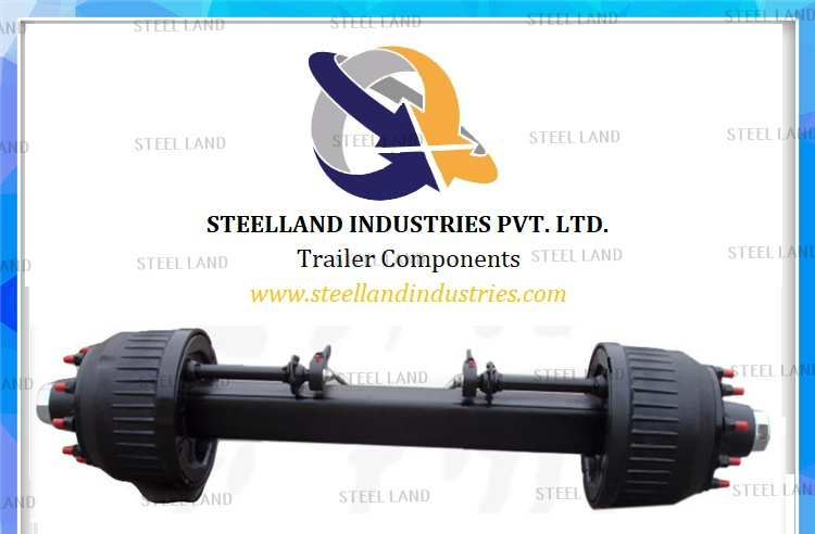 Trailer Parts Semi Trailer Axle Germany Type Axle