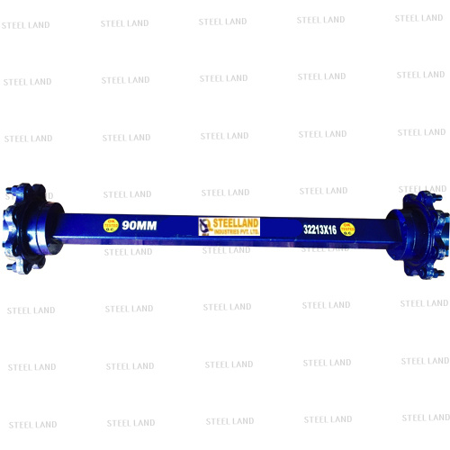 90mm trailer axle Steelland